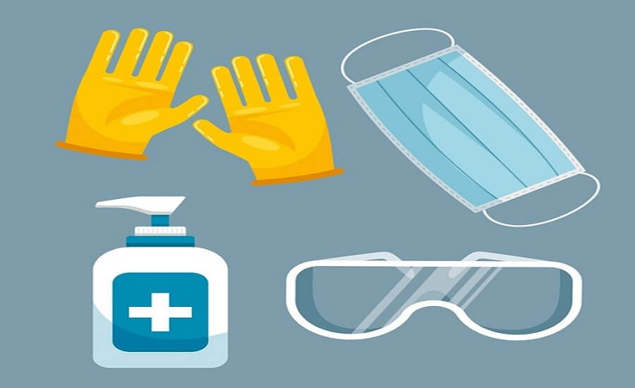 precautions for toilet cleaning or cleaners